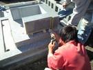 墓石設置工事10