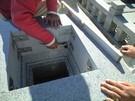 墓石設置工事12