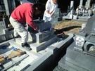 墓石設置工事15