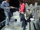 墓石設置工事17