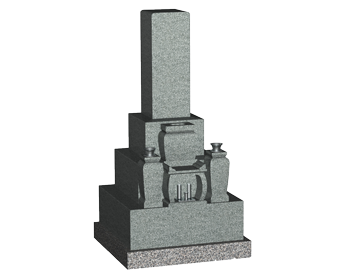 9寸角和型墓石
